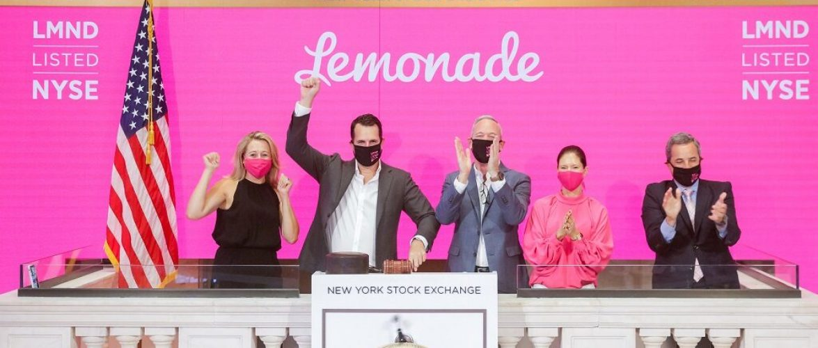Israeli insurtech firm Lemonade value up after IPO shares surge