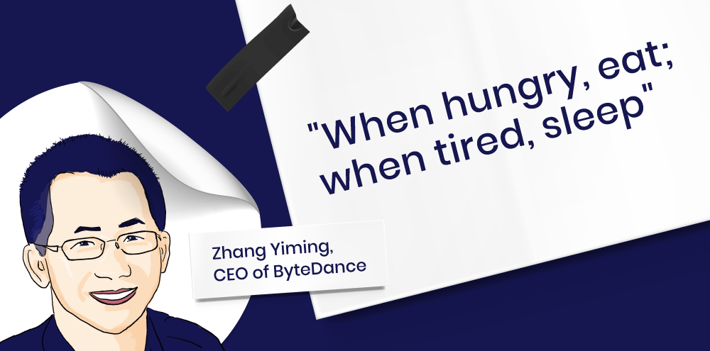 Doing extraordinary things with an ordinary mind: Zhang Yiming's speech for  ByteDance's 9th anniversary   KrASIA
